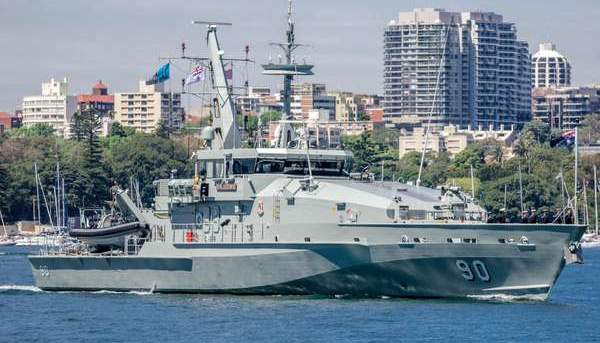 Maintenance to Armidale Class Patrol Boats